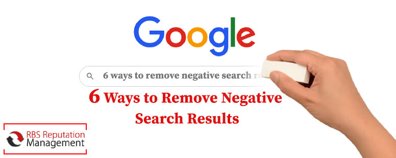 6 ways to remove negative search results