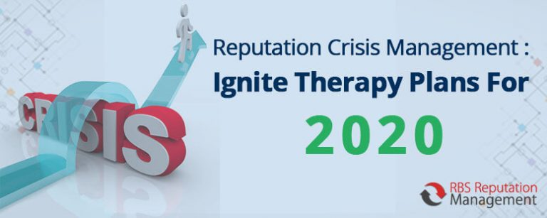 Reputation Crisis Management Ignite Therapy Plans For 2020