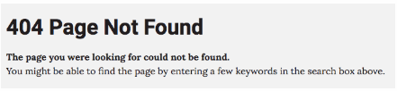 404 Not Found Example