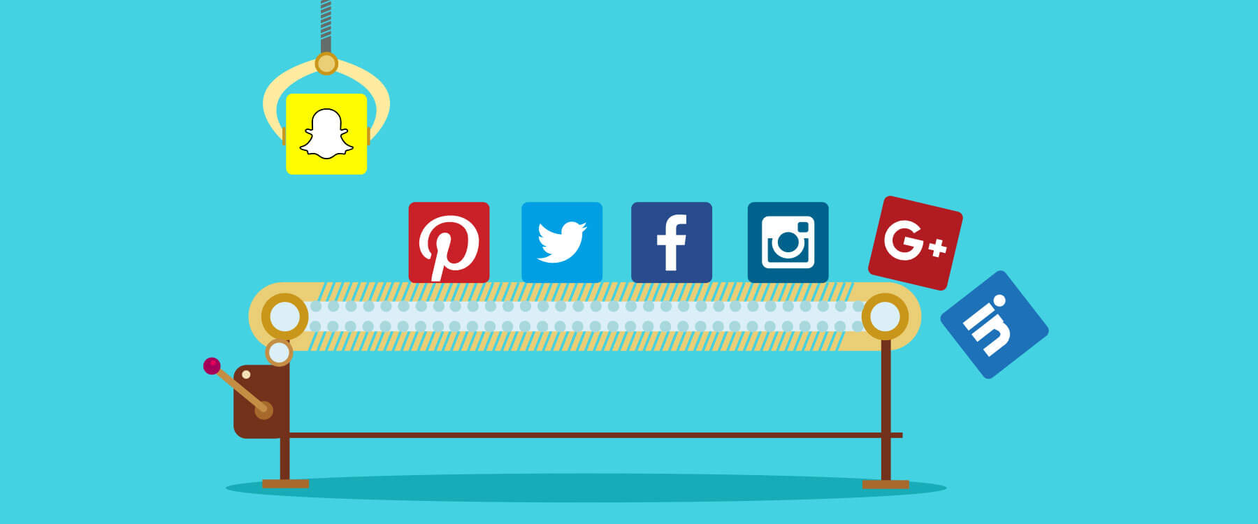 Weak Social Media Presence